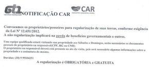Regularização do CAR Individual.
